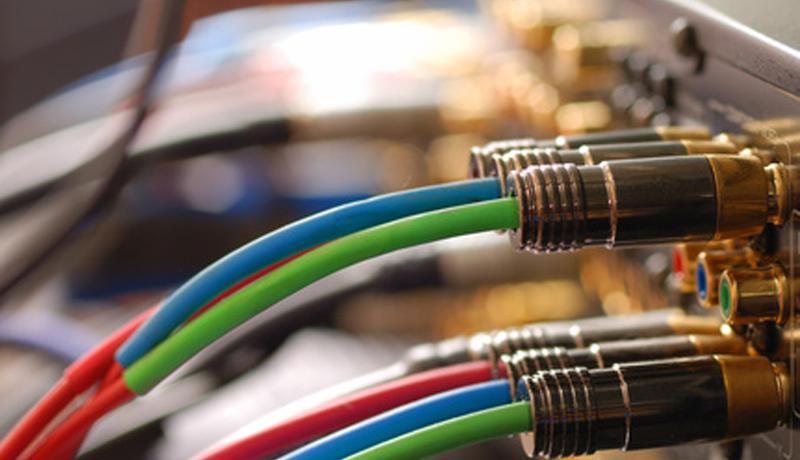 Fernsehr Kabel und Stecker