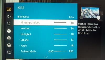 [Tipp] Optimale Bildeinstellungen für Samsung Fernseher
