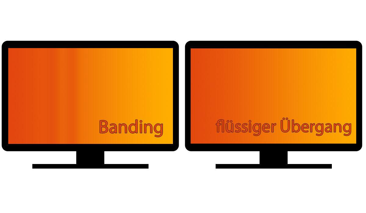 Banding Bildfehler Fernseher