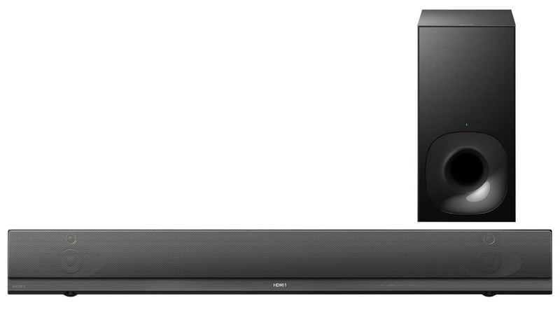 Sony HT-NT5 Premium 2.1 Multi-Room Soundbar mit 400W Ausgangsleistung, High-Resolution Audio, 4K UHD Pass-Thru, WiFi, NFC und Bluetooth (In/Out), schwarz