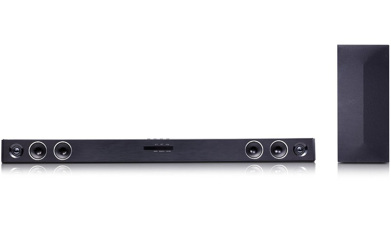 LG DSH4B Soundbar 2.1 mit Wireless Subwoofer 200 Watt