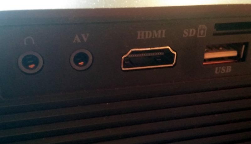 HDMI Anschluss