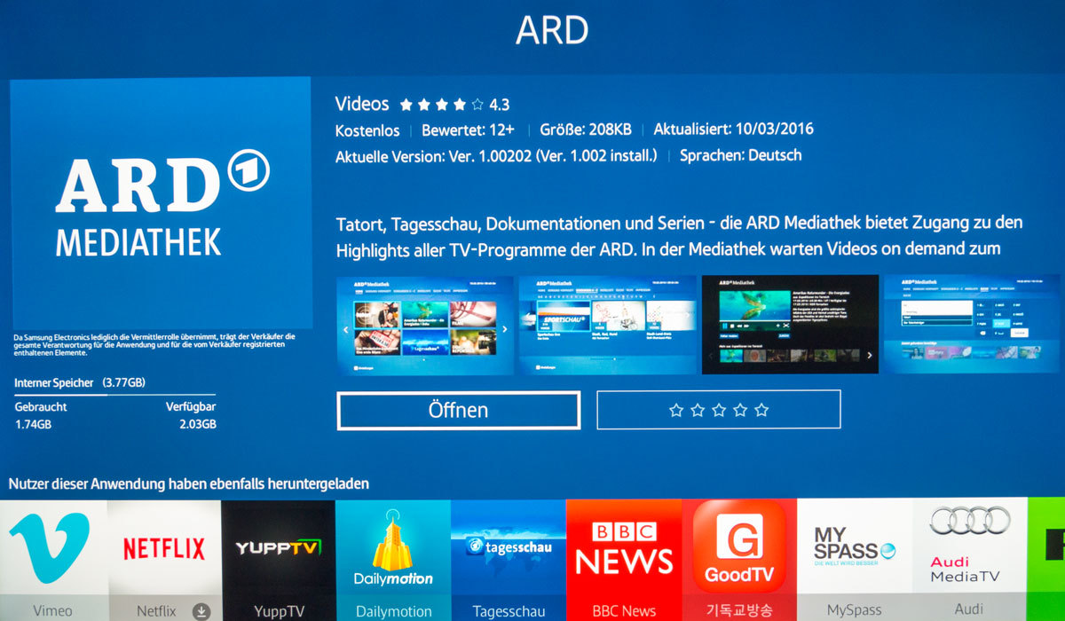 ARD Mediathek Smart TV