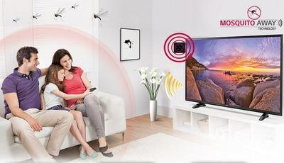 """Anti-Stich: LG macht seine Fernseher zum """"Mückennetz"""""""