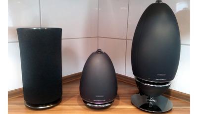 Vergleich der Samsung Multiroom Lautsprecher WAM R5, R6 und R7