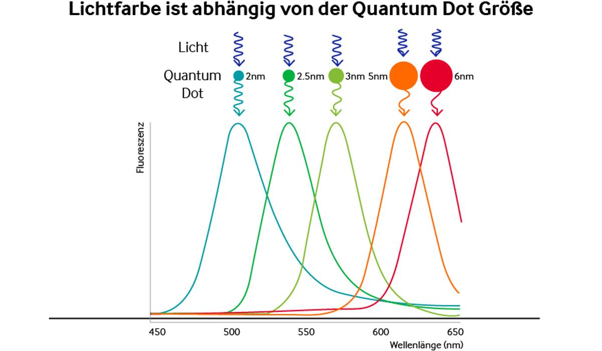 Quantum Dot Photoaktivität
