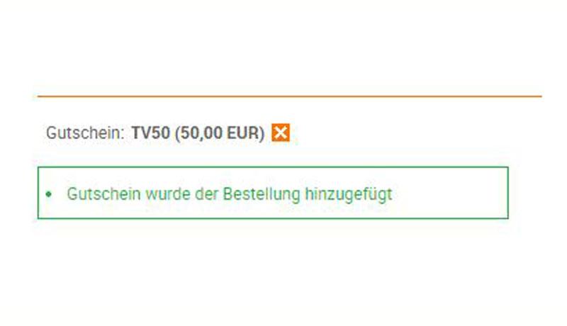 50-Euro Rabatt-Gutschein-Code für notebooksbilliger.de