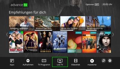 Tele Columbus startet Entertainment-Plattform AdvanceTV