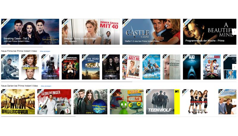 Amazon Instant Video - Filme & Serien