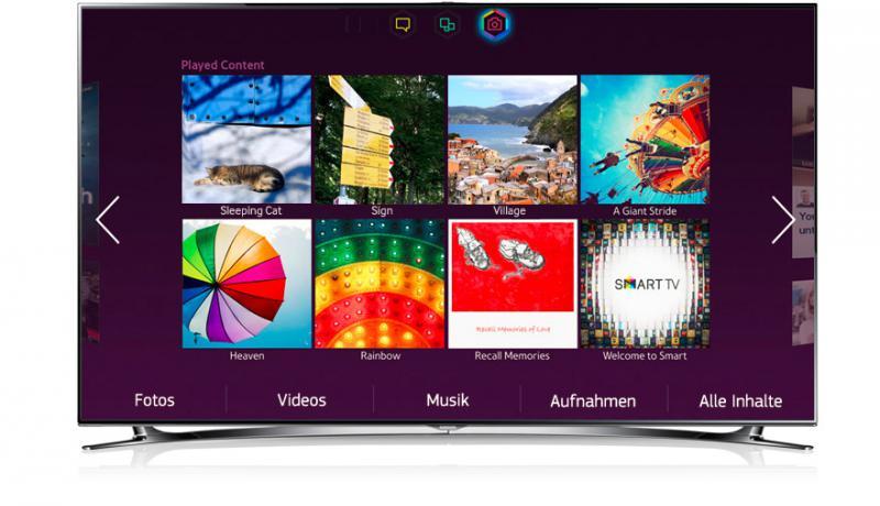 Samsung-UE40F8090SL 3D LED-Backlight-Fernseher Mediacenter