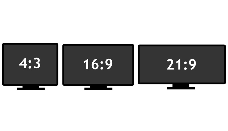 Was sind die Seitenverhältnisse 4:3, 16:9 oder 21:9?
