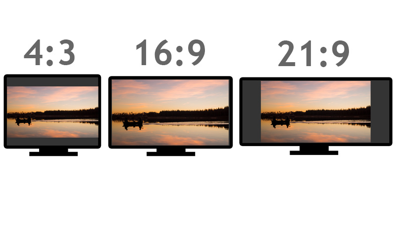 Fernseher Bildformate Schwarze Balken