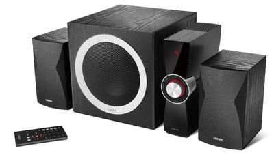 Soundsystem C3X 2.1 von Edifier kommt mit Verstärker