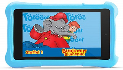 Amazon Kinder Tablet: Fire HD Kids Edition