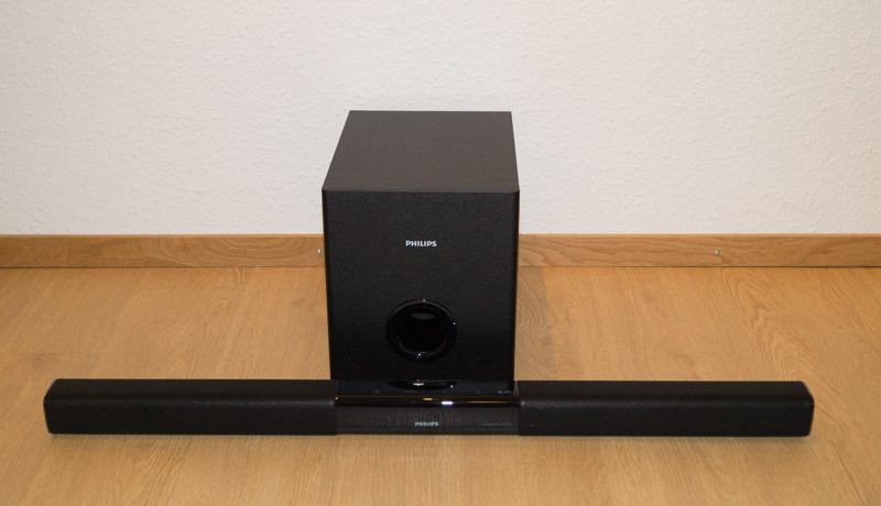 Philips Soundbar HTL3140B Soundbar