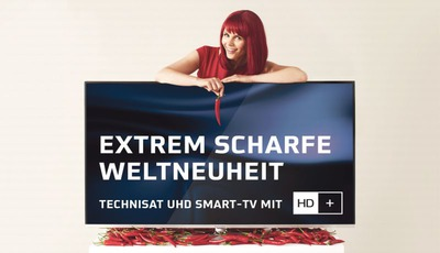 TV-Entwicklung: Zusammenschluss von TechniSat und HD+