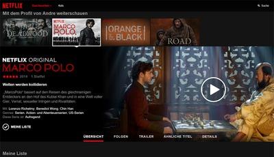 Konkurrenz fürs Kino: Wie Netflix den Serien-Boom unterstützt