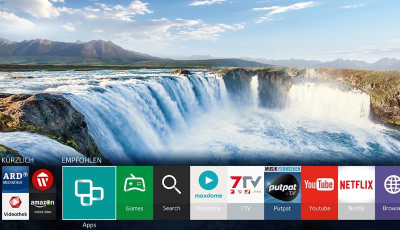 Samsung Tizen Smart Hub 2015