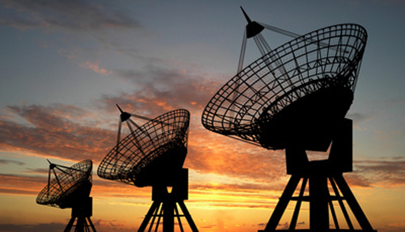 Empfang Satellit