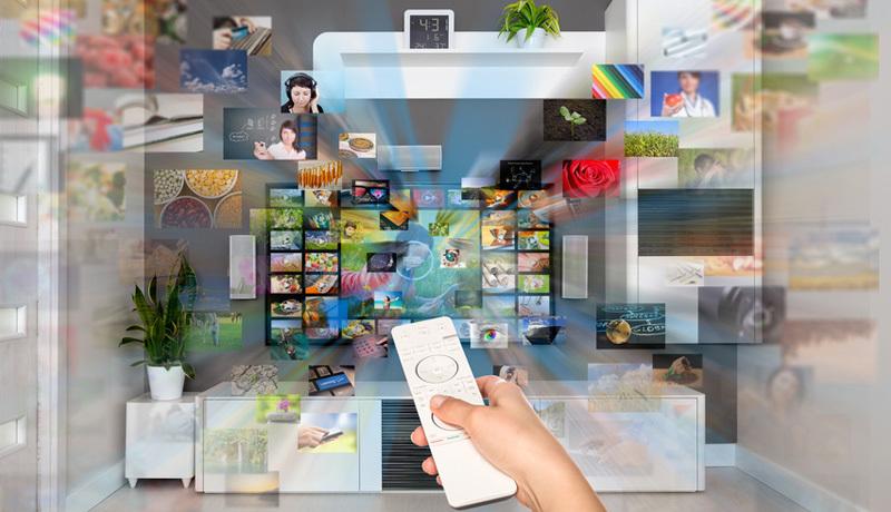 Fernseher Smart TV Streaming