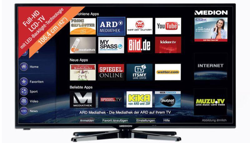 Aldi Nord Medion Full Hd Fernseher Im Angebot Fernseher Test 2019