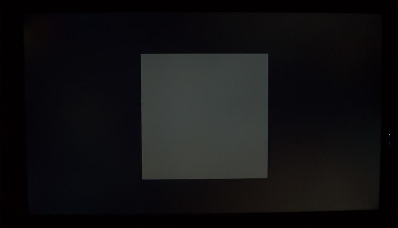 Samsung UE55JU6850 Testbild