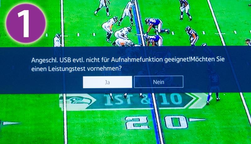 USB Aufnahme (PVR/Timeshift)