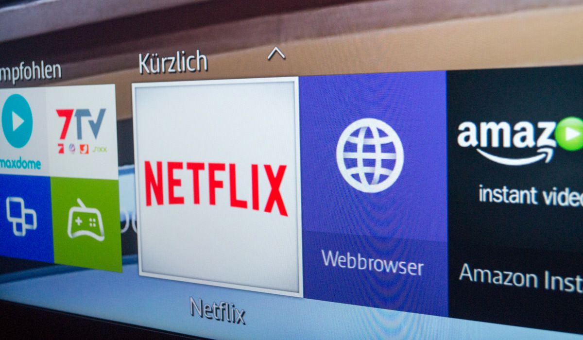how to search netflix on samsung smart tv