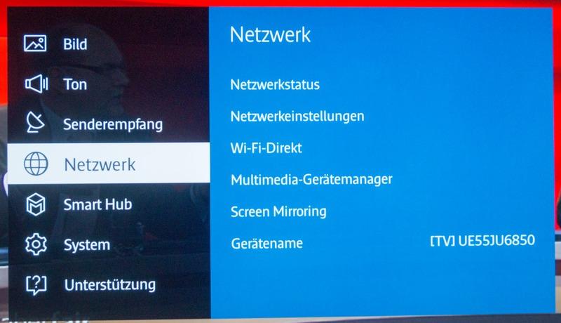 Netflix ESN Samsung Fernseher Problem