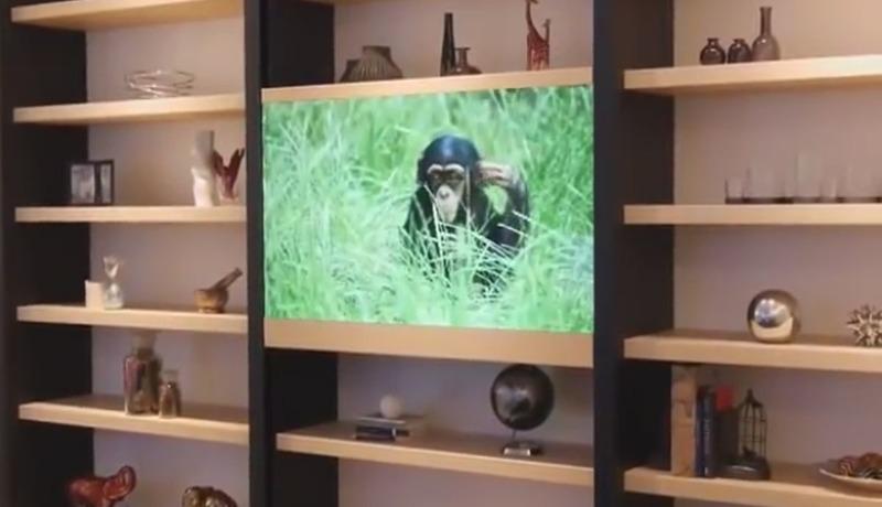 Panasonic stellt auf der CES unsichtbaren Fernseher vor