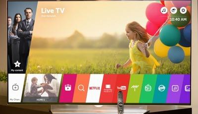 LG stellt webOS 3.0 auf seinen TV-Geräten 2016 vor