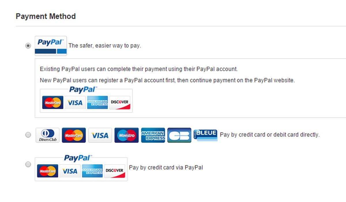 Gearbest Online-Shop Bezahlung