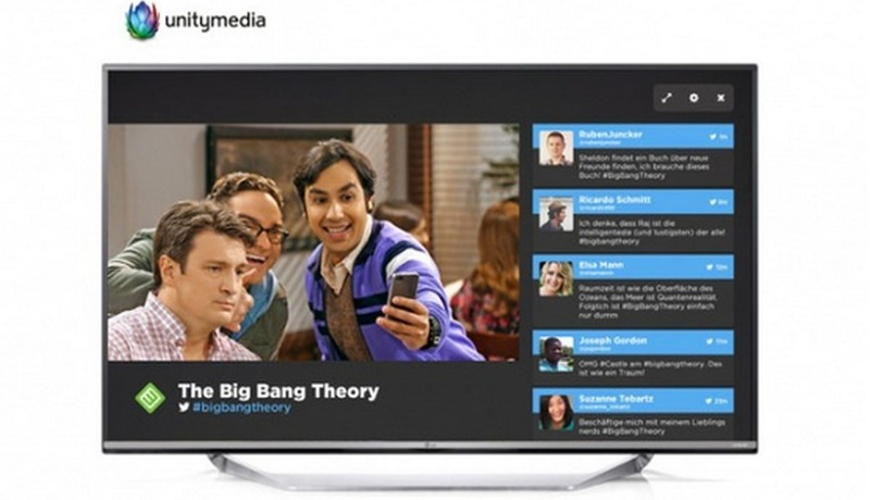 Unitymedia: Eine Verschmelzung von Fernsehen mit Twitter